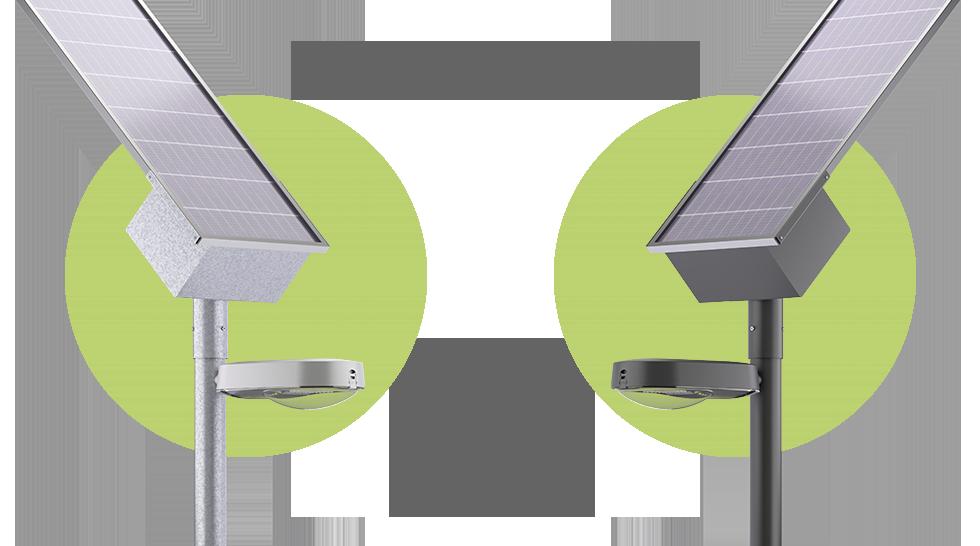 Nueva luminaria solar autónoma