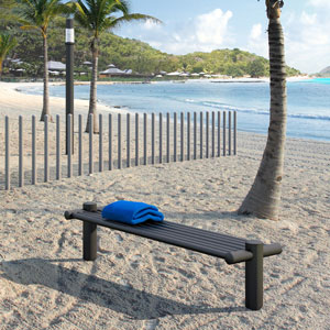 ATP outdoor furniture is completely immune to corrosion, which makes it perfect for coastal vacation areas.