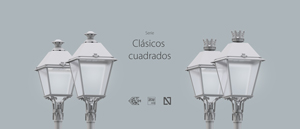 The Villa family: classic style public lighting with extraordinary features.
