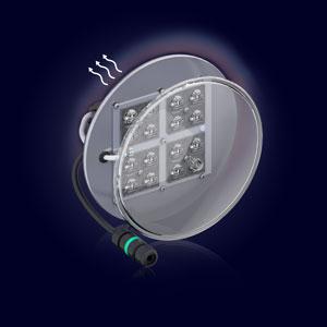 El Disipador Laminar® integrado en el kit resuelve el sobrecalentamiento de los módulos LED y alarga considerablemente su vida útil.