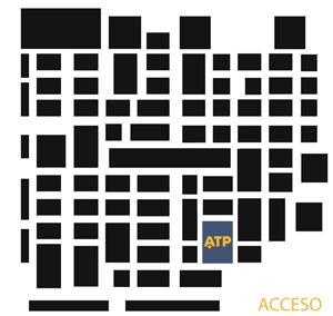 Ubicación de ATP en la ELA 2018 (pabellón 217).