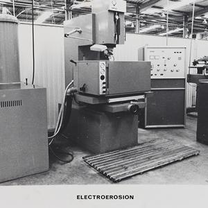 Maquinaria de producción, 1975.