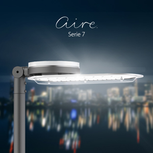 Finally, the LED outdoor lighting familyAire® features all ATP's unique characteristics: It isIP66+,IK10+,Class II+ anti-electrocution and immune to corrosion, and also includes a10-year warranty.