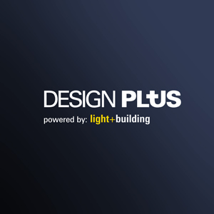 Design Plus 2018 emblem. This awards honours innovation and outstanding product achievements at international trade shows such as Light+Building (Aire® luminaire, ATP Lighting).