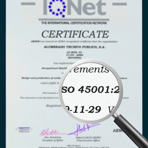 """ISO 45001 """"Occupational Health and Safety Management System""""."""