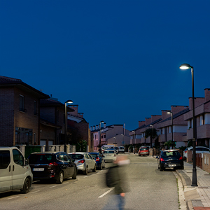 After changing the lighting, overall energy savings were of 73%, measured in kW h.