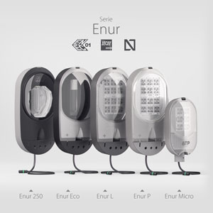 The family of street lights ENUR: road and suburban lighting with the highest international guarantees in terms of quality and safety.