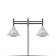 BB-150 Integrado Suspendido Doble