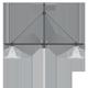 BG-125 Integrado Suspendido Doble