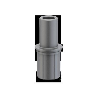 Adaptador a diámetro 50 mm.