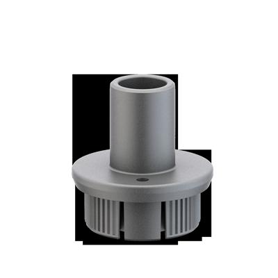 Adaptador a diámetro 60 mm.