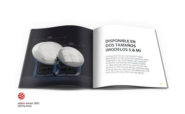 E Series floodlight + KitLED®