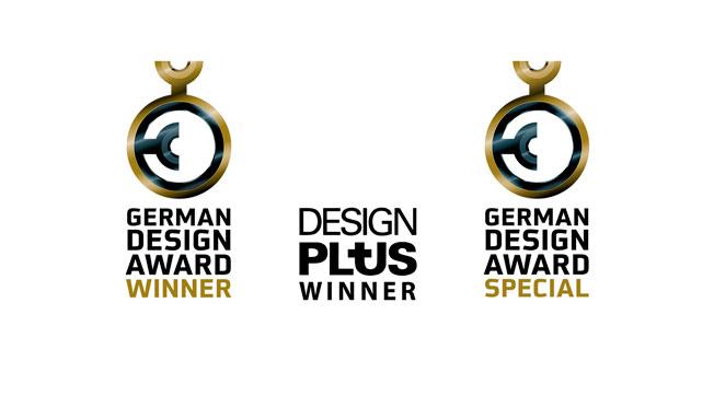 German Design Award (2018 y 2019) y Design Plus