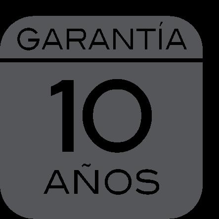 10 años de garantía