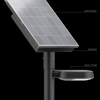 Alumbrado publico alumbrado publico led eficiencia en el - Farolas led solares ...